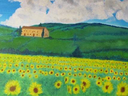 Sunflowers Of Tuscany