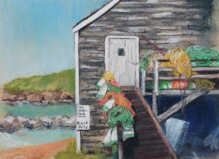MONHEGAN FISH HOUSE