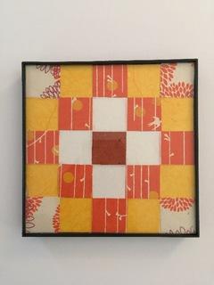Orange/Yellow Print