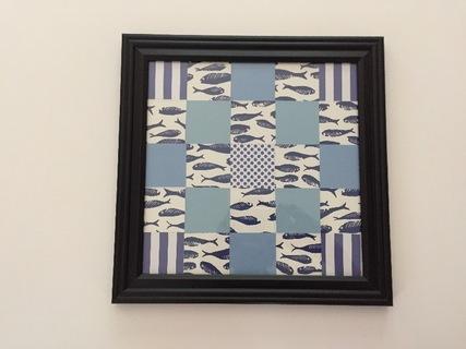 Blue Fish Quilt