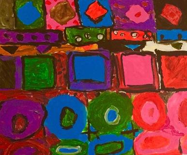Abstract Vivid