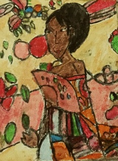 Kellie as Klimt