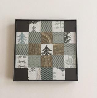 Wasp Paper Mini Quilt (Winter)