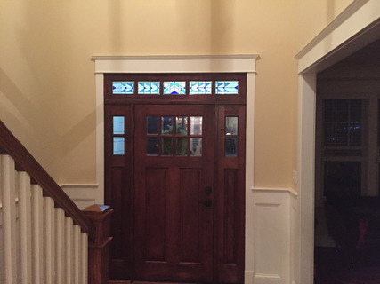 Abstract Transom