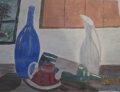 Pewter Vase
